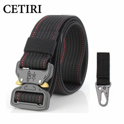 riggers heavy duty knock off tactical belt men soldier military equipment army s