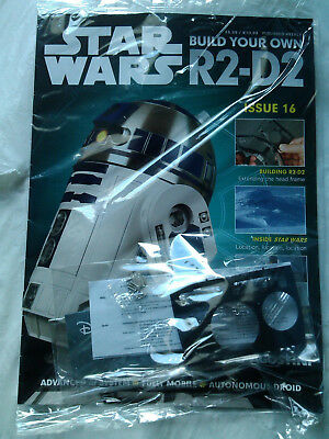 DEAGOSTINI STAR WARS - Build Your Own R2-D2 Issue 16 Sealed With Parts
