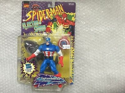 """Spiderman""-Captain Amerika— Toy Biz MOC"