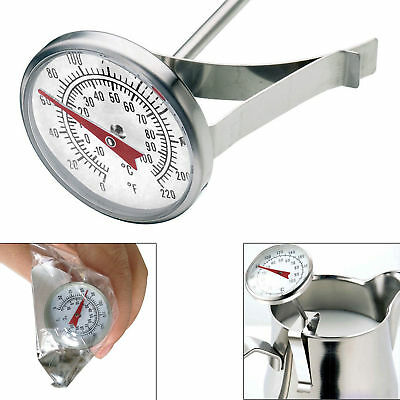 New Milk Frothing Thermometer For Professional Latte Cappuccino Coffee UK Seller