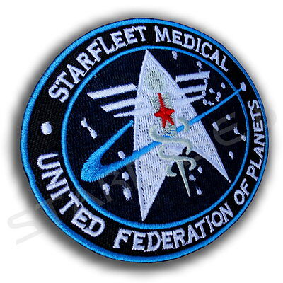 Starfleet Medical United Federation Of Planets Star Trek Uniform Aufnäher Patch