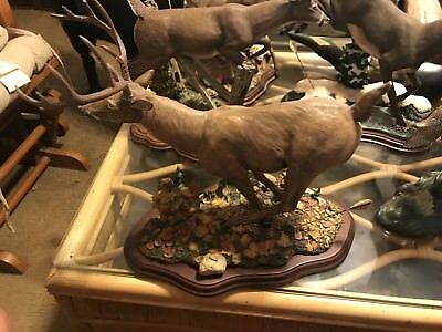 Dansbury Mint Deer Figurine