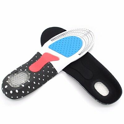 Unisex Memory Foam Shoe Insole Trainer Orthotic Arch Support Comfort Foot Heel
