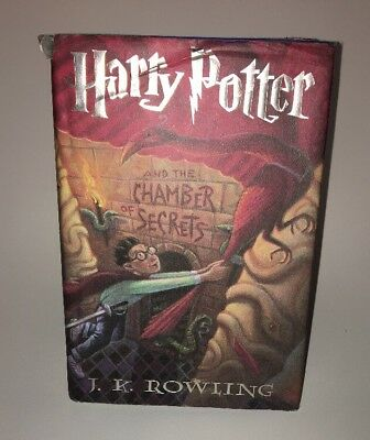 Harry Potter And The Chamber Of Secrets FIRST EDITION Hardcover Book