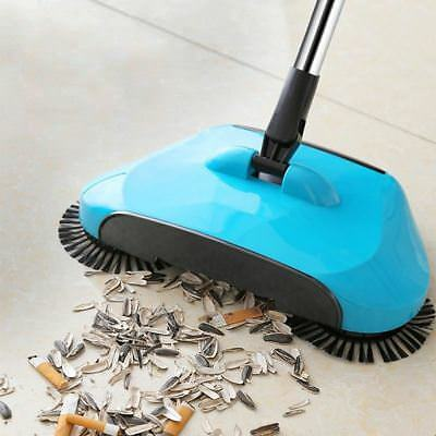 Stainless Steel Sweeping Machine Push Type Hand Push Magic Broom Dustpan Handle
