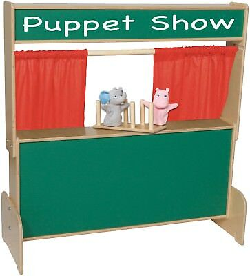 Wood Designs? Deluxe Puppet Theater With Chalkboard