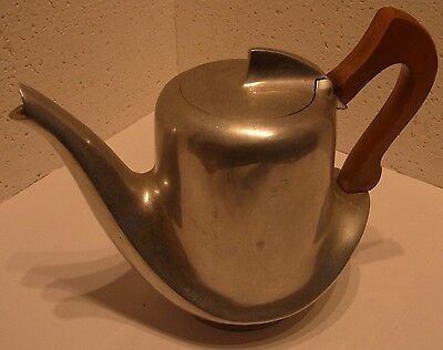 Tee Kanne / Tea Pot, Picquot Ware made in England, ca:H17 cm,L/B 21/12 cm, 635 g
