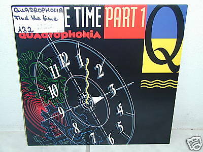 """***QUADROPHONIA""""FIND THE TIME-Part 1""""-12""""Inch/Imort***"""