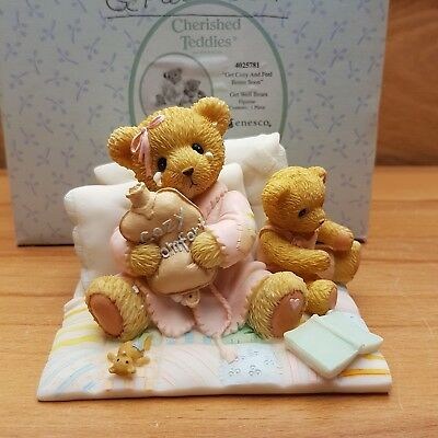 Cherished Teddies Get cozy and feel better soon 2012 *4025781* OVP