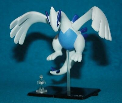 Yujin Tomy Zukan Pokemon 1/80 Scale Lugia 10th anniversary (Sealed) From Japan