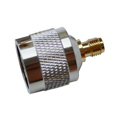 N male to SMA female RF coaxial cable adapter Jack converter connector,silv H0V1