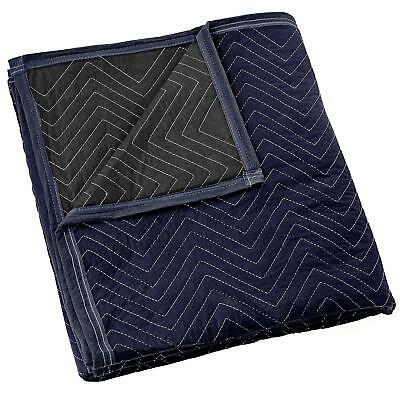 Furniture Pad Packing & Moving Blankets Multi-Purpose Fabric Covers Blue Black