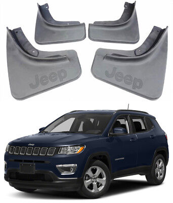Splash Guards Mud Guards Flaps 82214642AE/14643AE Fit For 2017-2018 Jeep Compass