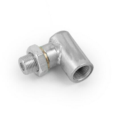 02 Lambda Sensor Exhaust De Cat 90 Degree Spacer Adapter Ecu Fooler Tricker
