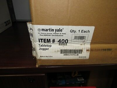 Martin Yale 400 Tabletop Paper Jogger [37A]