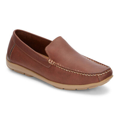 Dockers Men's Kaufman Genuine Leather Slip-on Casual Driver Loafer Shoe