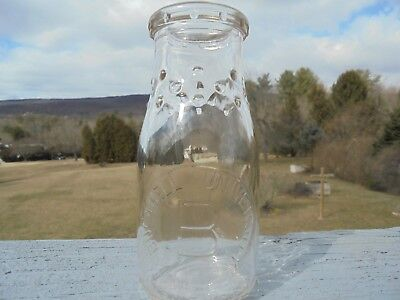 Bucknell University, Half Pint Milk Bottle .Lewisburg pa..Near MINT