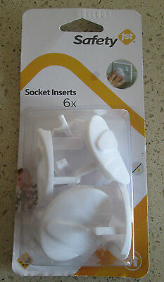 NEW Safety 1st Socket Covers - PACK OF 6