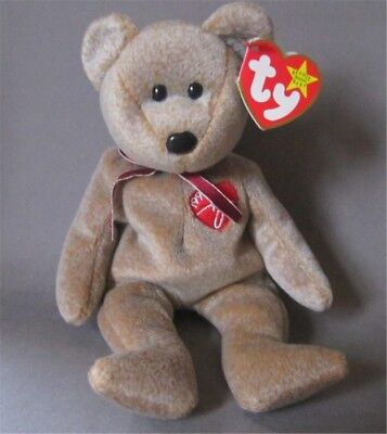 Beanie Baby Signature Bear From 1999 Collector Quality