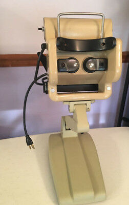 Keystone View Ophthalmic Telebinocular  Visual Survey Machine Tester & Dustcover