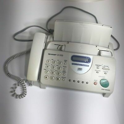 Sharp ux300 fax machine