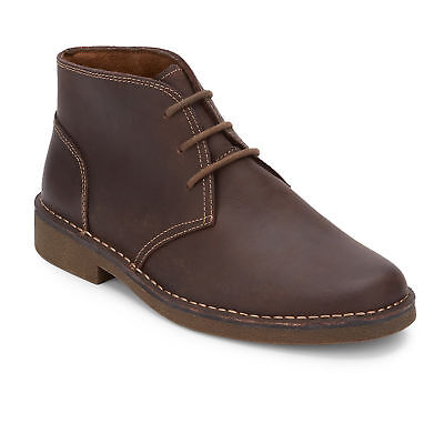 Dockers Men's Tussock Genuine Leather Rubber Sole Chukka Boot