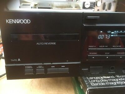 Kenwood kx-w4080 Double Cassette Deck
