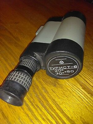 Typnct-6 jagdskektiv variable 20x - 30 x 50 Russian telescope