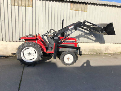 Yanmar F20D compact tractor with new front loader - 5365£ for UK VAT businesses
