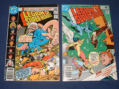 LEGION OF SUPER-HEROES Lot of 2 # 265 & 268