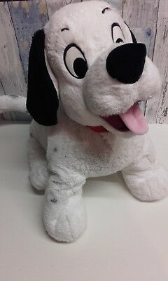 Massive Cute Official Disney 101 Dalmation Dalmatian Dog Plush Foot Stamped