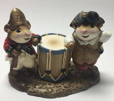 """Wee Forest Folk """"Combination Minute Mouse and Red Coat"""" 1981 MM-09"""