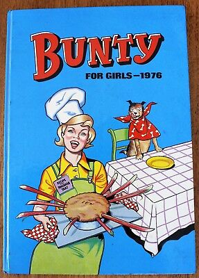 Vintage Bunty For Girls Annual 1976, Vgc