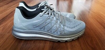 Nike Air Max 2015 Reflective Silver 3M Size 8.5 Mens running shoes