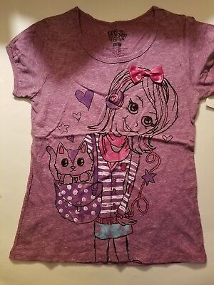 10-12 7-8 5-6 14-16 Youth Girls Fifth Sun Totes Adorbs Shirt New Size 4