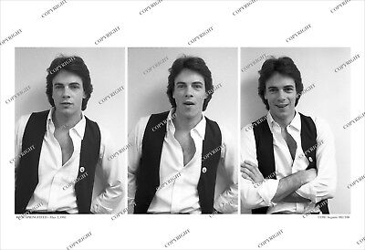 Rick Springfield 3-FRAME 1981 CANDID PHOTO SEQUENCE Unpublished/Limited Ed/no cd