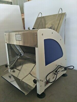 New Heavy Duty Commercial Automatic Electric Bread Slicer 110V