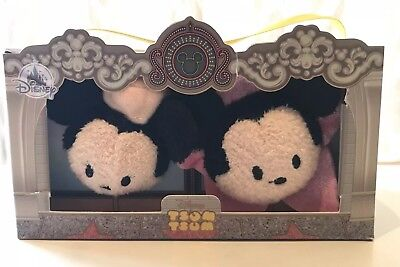 NEW Disney Los Angeles Mickey & Minnie Mouse Mini Tsum Tsum Boxed set of 2