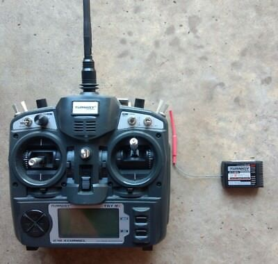 Turnigy 9x v2 transmitter and 9x 8 channel receiver