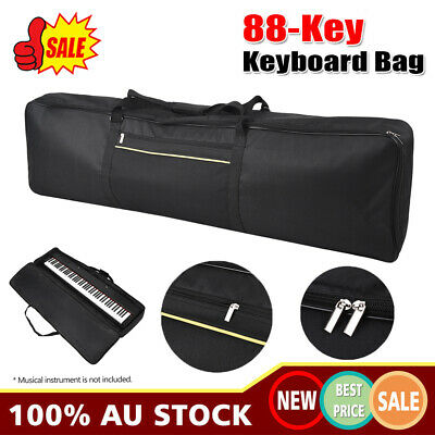 Portable 88-Key Keyboard Electric Piano Padded Case Gig Bag 420D Oxford Cloth