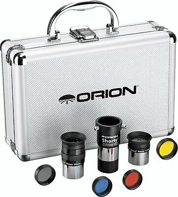 Orion 08890 1.25-Inch Premium Telescope Accessory Kit silver - FREE SHIPPING!!!