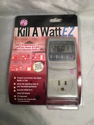 Kill A Watt EZ - Energy cost and forecasts. Model P4460  New In Unopened Package