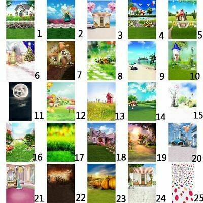 25-Type Childrens' Day Photography Backdrops Baby Kids Studio Props 3x5ft/5x7ft