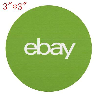 50 100 200 500 1000 classic green round ebay branded stickers for