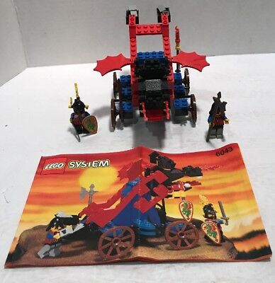 Lego Castle #6043 Dragon Masters Dragon Defender Complete With Instructions