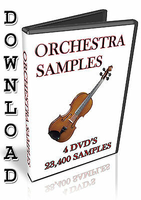 Orchestra Samples- Apple Logic Pro X Exs24- Studio / Express-  14.5 Gb- Download