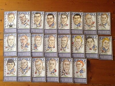 Football cards Premiers Geelong Cats 2007 set