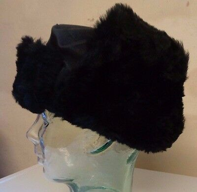 Job Lot New Kids Boys Girls Faux Fur Ushanka Russian Hat Black Age 8-10 x 15