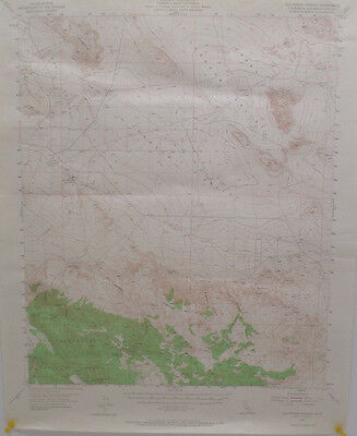 Vintage Topography map of Old Woman Springs CA. by U.S. Geological Survey 1955