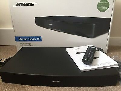 BOSE solo 15 series II tv sound bar Superb condition